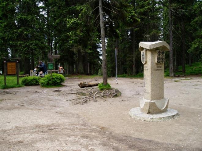 SROVNÁVACÍ FOTO 2004: Trojmezí