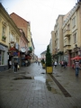 Část pěší zóny v Užhorodě