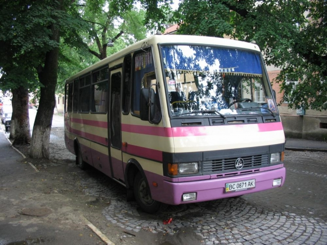 Nejběžnější typ autobusu