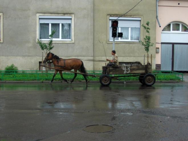 Město žije ekologickou dopravou.