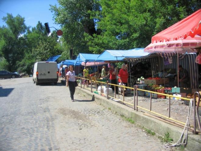 Tržiště v Rachově