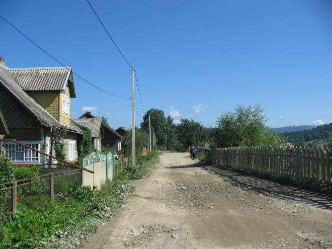Lažeščina, údajně nejvýchodnější vesnice první republiky.