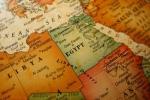 Egypt v mapě