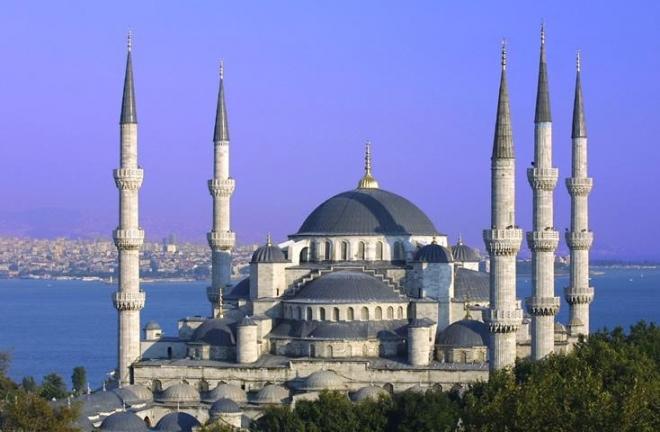 Modrá mešita v Istambulu