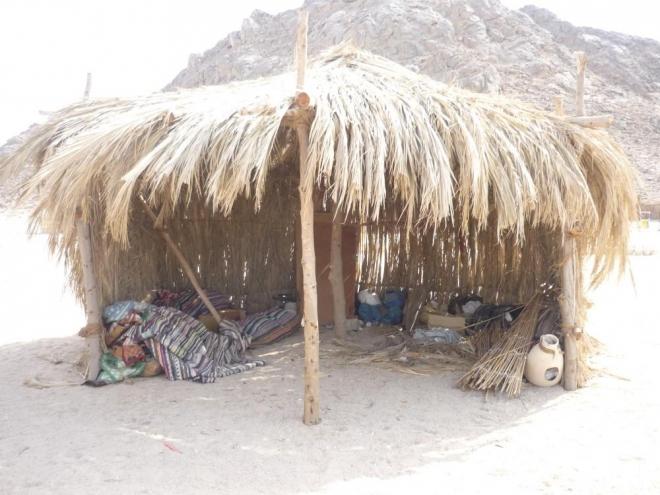 Beduínský přístřešek