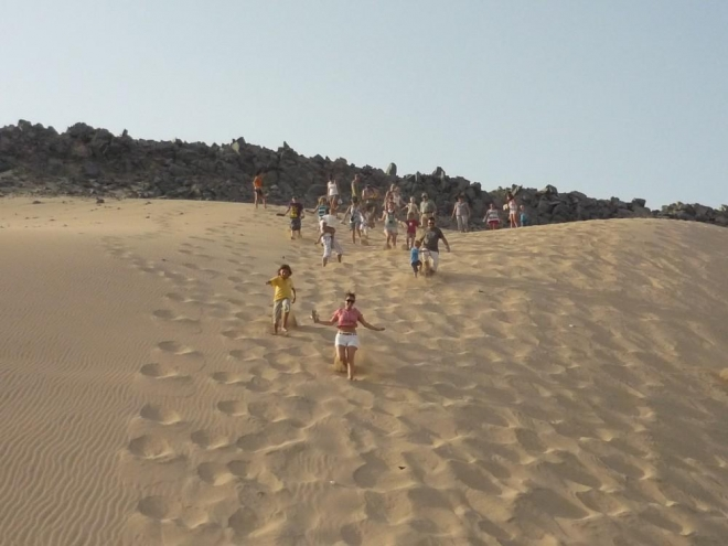 Seběhnutí písečné duny