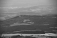 Mařský vrch je z Boubínu(1 362m) jen nepatrným kopečkem.