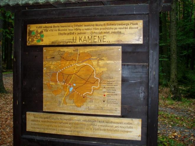Nově je zde vyznačena NS Školní polesí-Hůrka, které vede víceméně po okraji lesního komplexu.