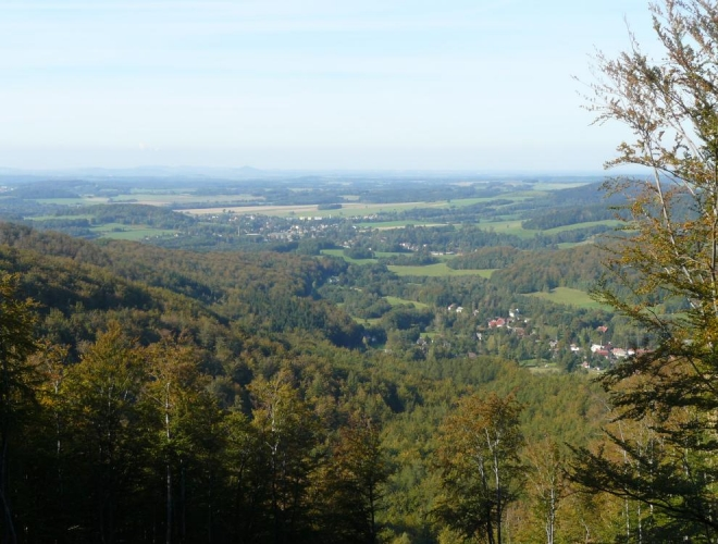 Polské nížiny, z části ještě české