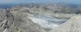 Vrcholová planina a asi půlka zbytku ledovce