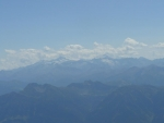 V dáli vidíme Ankogel s mnohem většími ledovci.