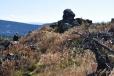 Samotný vrchol Knížecího stolce(1 226m).