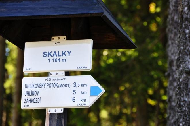 Zvláště, když na jeho vrchol povede oficiální turistická značka.