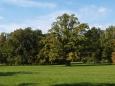 Park u hrobky.
