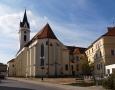 Kostel sv. Jiljí.