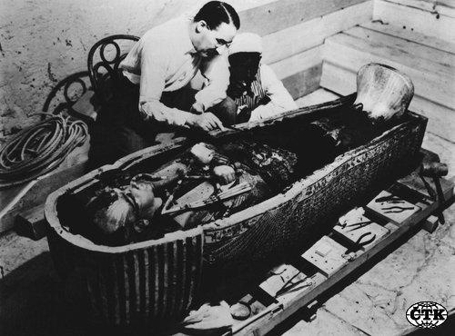 Objevení Tutanchamonovy chrobky