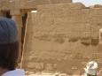 Výjev z bitvy faraona proti Chetitům