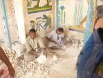 Pracovníci alabastrové dílny