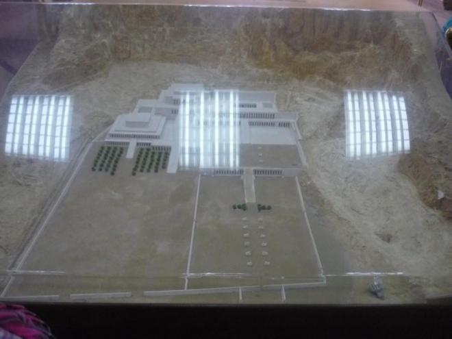 Maketa Zádušního chrámu královny Hatšepsut