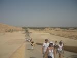 Pohled na zelené údolí kolem Nilu
