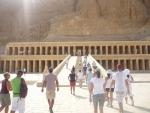 Stoupáme do hlavní svatyně chrámu