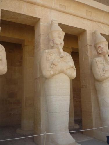 Socha královny Hatšepsut