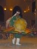 Typický tanec s deštníky