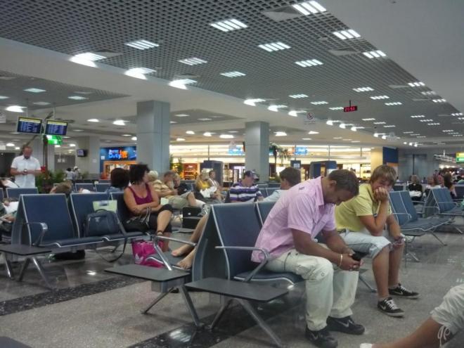 Na letišti v Hurghadě