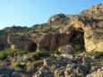 členité pobřeží jižní Kréty