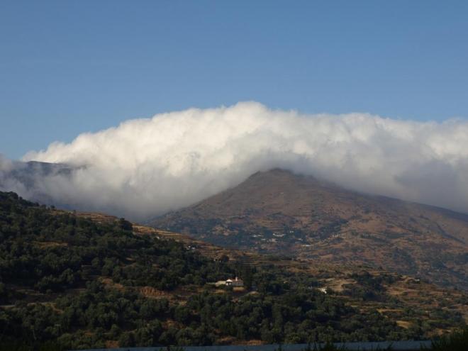 mraky nad horami ...
