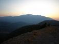 východ sluníčka nad Levka Ori