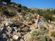 pracovníci parku Samaria opravující stezku na Gigilos