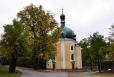 Lomec, poutní kostel Jména Panny Marie.