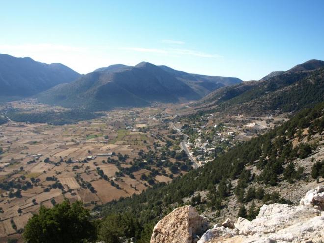 vesnička Amoudari na Askifou
