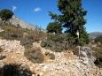 turistické značení na Krétě - všechno je E4 ...
