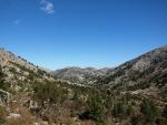 údolí pod Kastrem, směr Katsiveli a Kalergi