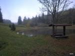 opravený rybník u cesty