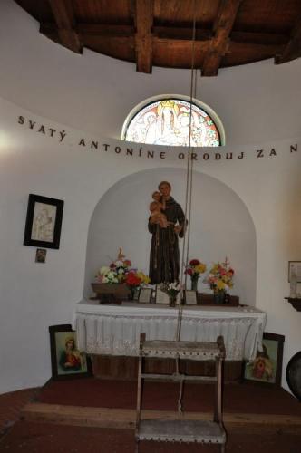 Pohled do kaple.
