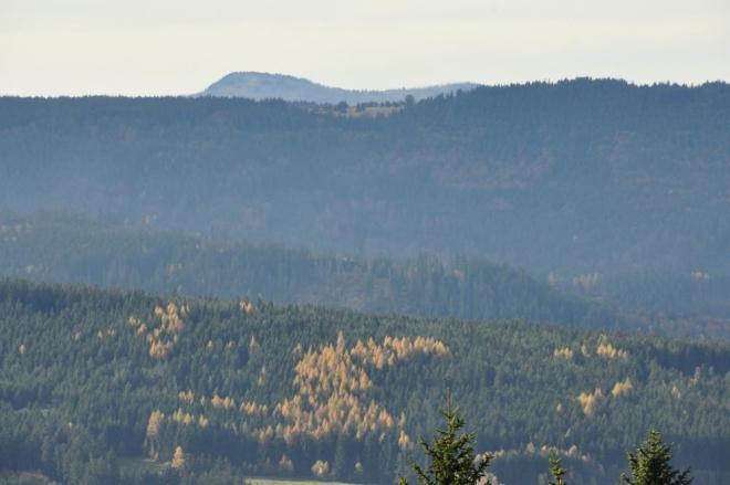 Roklan, druhý nejvyšší vrchol Šumavy (1 453m).