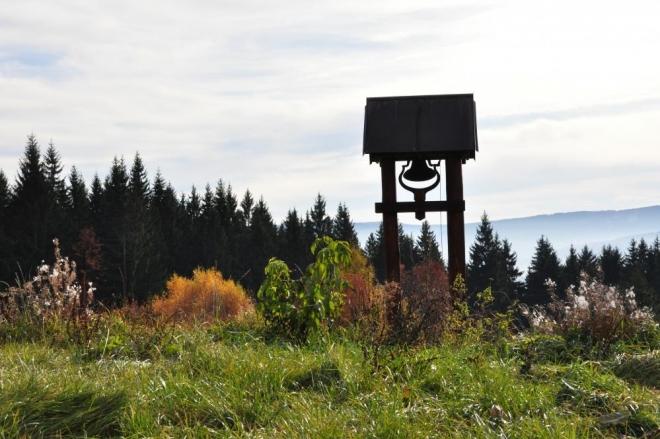 Zvonička na Krankotách.