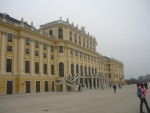 Zámek Schönbrunn zezadu