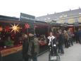 Adventní trhy před Schönbrunnem