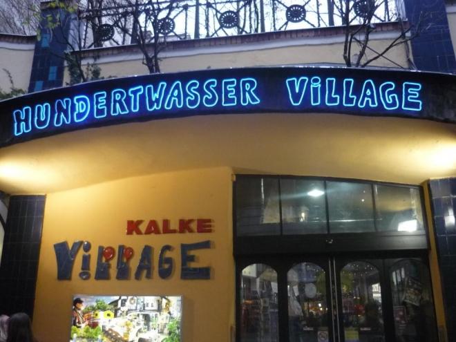 Vesnička Hundertwassera