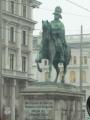 Jezdecká socha Schwarzenberga