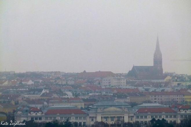 Zamlžená Vídeň (Katka Žejdlová)