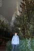 Moje maličkost s vánočním stromem a Stephansdomem v pozadí (Katka Žejdlová)