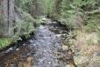 Slatinný potok.