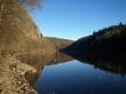 břeh přehrady pod Ztracenkou