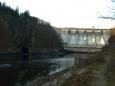 hráz slapské přehrady