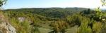Panorama lomu a okolí